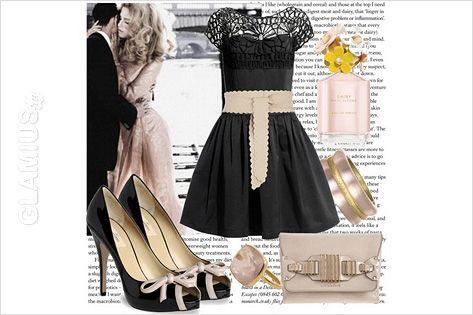 Аксесуари до чорної сукні