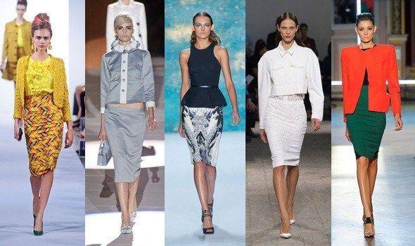 Модні спідниці весна-літо 2013