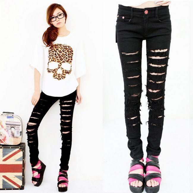 Аліекспресс (aliexpress): як замовити модні чорні і сірі чоловічі та жіночі джинси із завищеною талією, рвані, з дірками на колінах, великих розмірів, обтягуючі, завужені, скинни, американки?