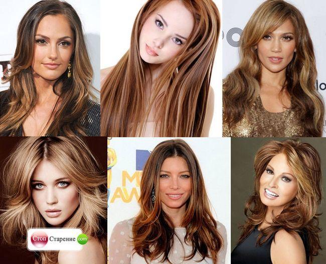 Брондірованіе темного волосся на фото - блондинка або брюнетка, а може краще два в одному