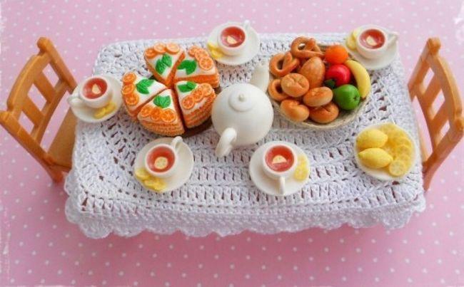 Їжа для ляльок своїми руками. Як зробити їжу для ляльок