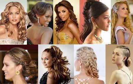 Варіанти вечірніх зачісок для довгого волосся