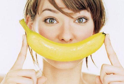 Банан від зморшок на обличчі
