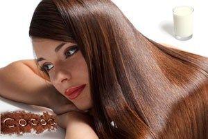 Ефективні рецепти маски для волосся з кефіром і какао