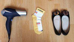 Як швидко розносити нові туфлі?