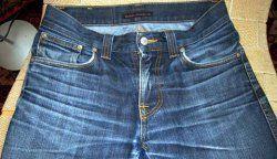 Як швидко висушити джинси?