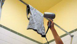 Як швидко висушити одяг?