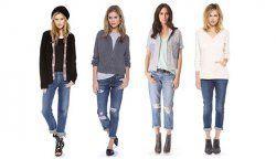 Як і з чим носити джинси бойфренди?