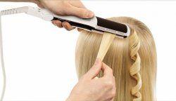 Як накрутити волосся за допомогою прасування?