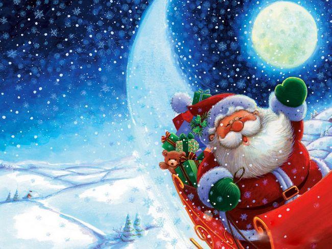 Як намалювати Діда Мороза і Снігуроньку. Як поетапно намалювати красивого Діда Мороза і Снігуроньку олівцем або фарбами