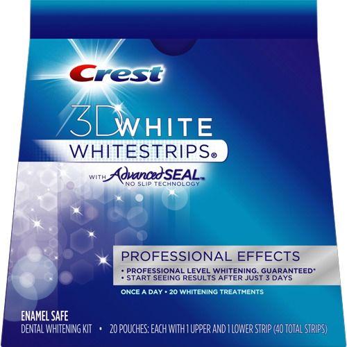 Смужки для відбілювання зубів Crest 3D White Whitestrips Professional Effects