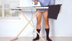 Як погладити брюки зі стрілками?