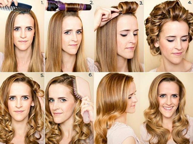 Як покроково накрутити на плойку волосся середньої довжини