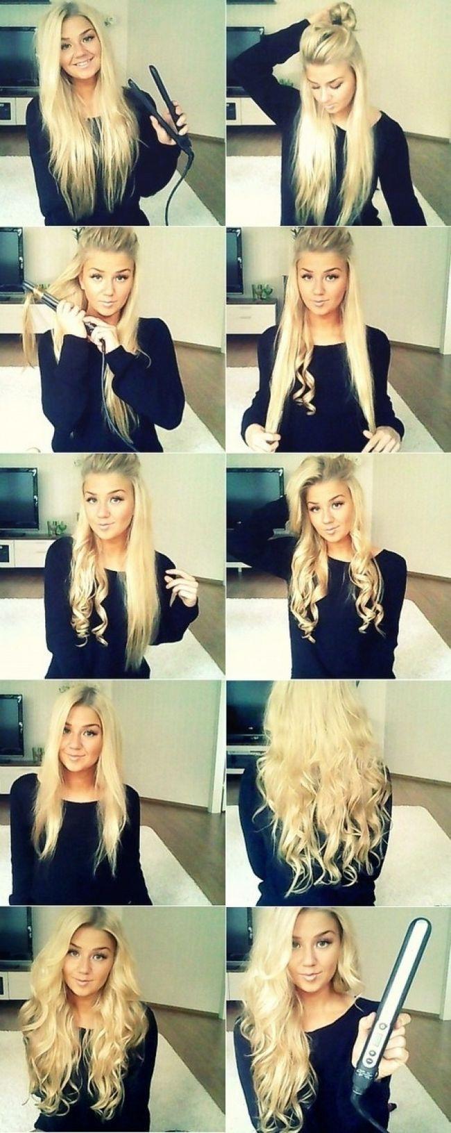 Як покроково накрутити на плойку довге волосся