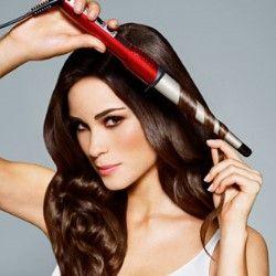 Як накрутити волосся на конусну плойку