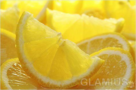 Лимонна маска для зубів
