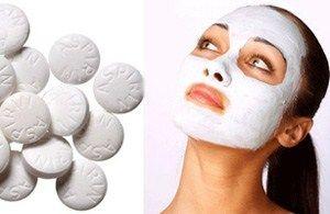 Як приготувати протизапальні маски для обличчя з аспірину