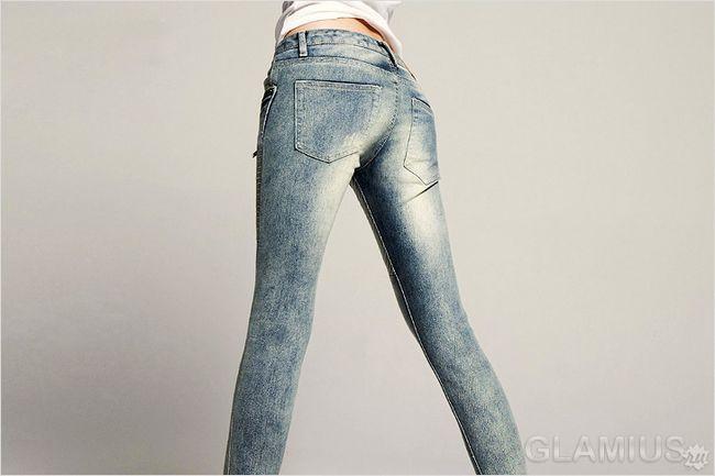 Як розтягнути джинси