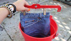 Як зробити джинси світліше?