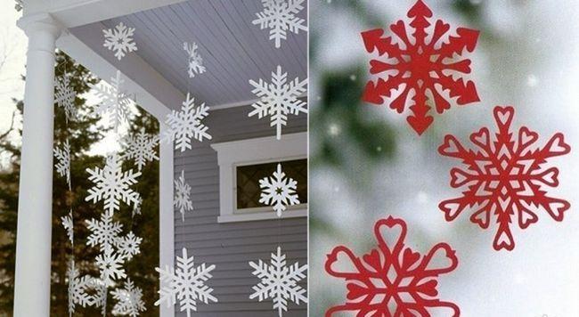 Як зробити і вирізати красиву сніжинку з паперу своїми руками - шаблони сніжинок. Об`ємна 3д сніжинка - покроковий майстер клас