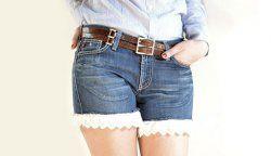 Як зробити шорти зі старих джинсів?