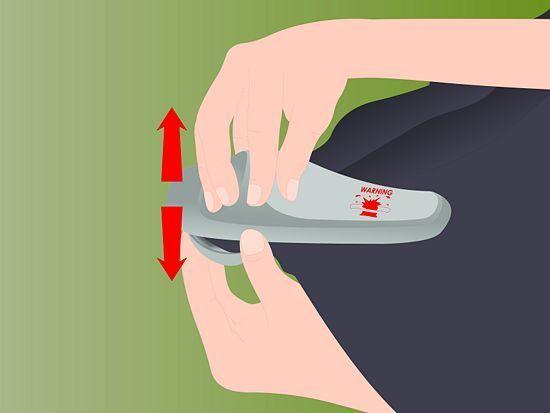 Як зняти магніт з одягу