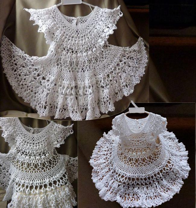 Як зв`язати сукню сніжинка для дівчинки гачком: схема і опис. Як в`язати візерунок сніжинка на дитяче плаття гачком для новорічного ранку?