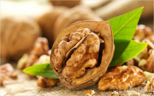 Використовуйте перегородки волоських горіхів