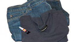 Як видалити супер клей з одягу?
