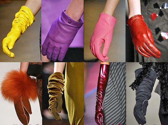 Різновидів рукавичок безліч