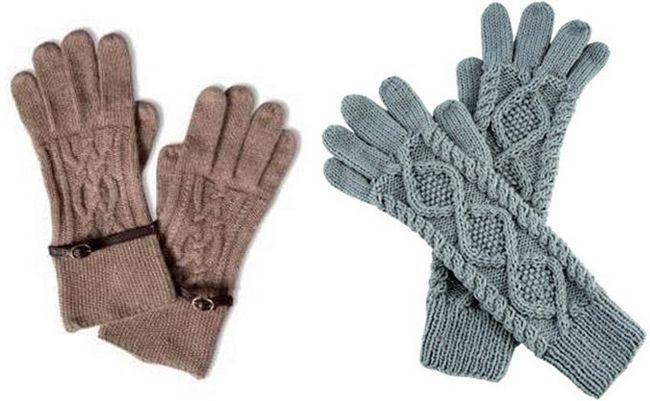 Зустрічайте зиму в теплих в`язаних рукавичках