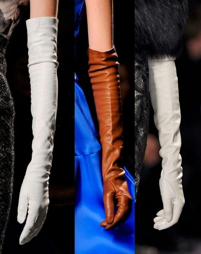 Шкіряні та замшеві рукавички