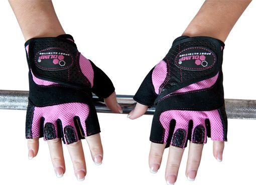 Відкриті рукавички для фітнесу