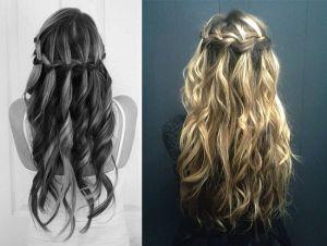 Як заплести красиву косу-водоспад. Покрокова інструкція