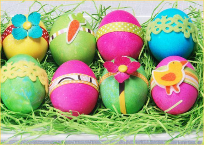 Фарбуємо яйця на Великдень своїми руками
