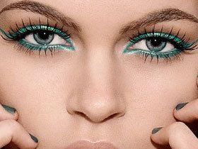 Гарний макіяж для зелених очей