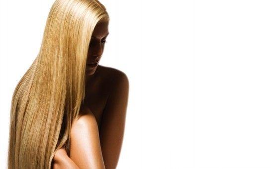 Ламінування волосся - до і після