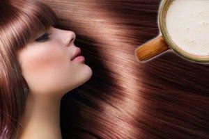 Лікувальна сила маски для волосся з кислого молока