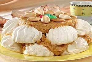 Торт з печива і зефіру
