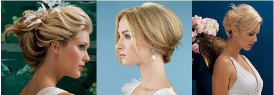 весільні зачіски для короткого волосся