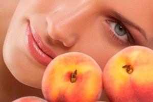 Кращий подарунок для особи - персикова маска