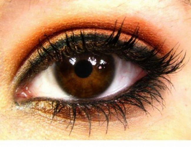 Макіяж для карих очей - підбір тіней, корисні поради