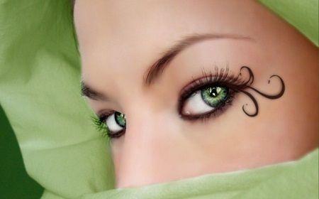 Макіяж для зелених очей - підбір тіней, корисні поради