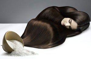 Маска для волосся з морською сіллю - процедура в домашніх умовах