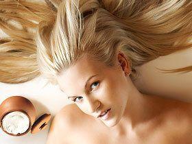 Маска для волосся зі сметаною