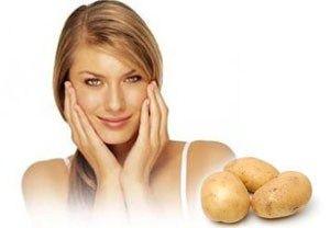 Маски для обличчя з картоплі - просто і ефективно!