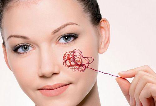 Методи лікування і профілактики купероза на обличчі