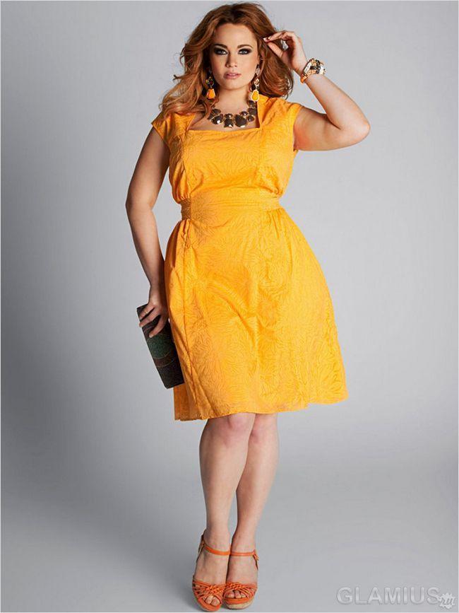 Ошатне літнє плаття для повних