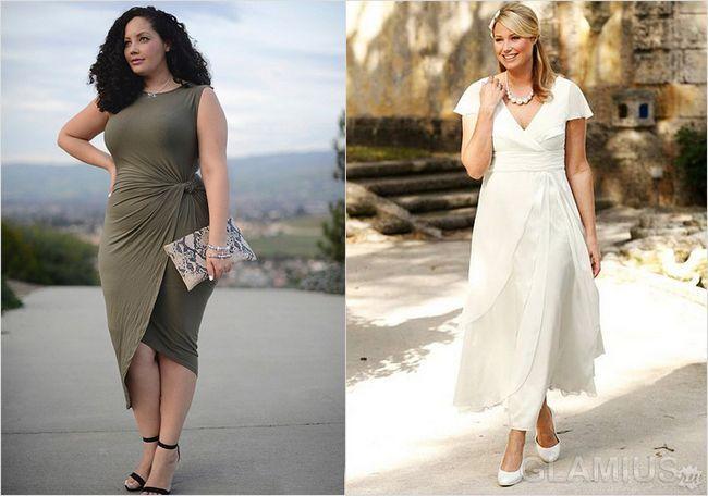 однотонні сукні