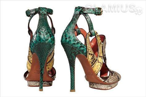 Модне взуття весна літо 2012